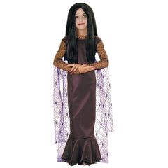 Addams Family - Morticia Girl's Costume