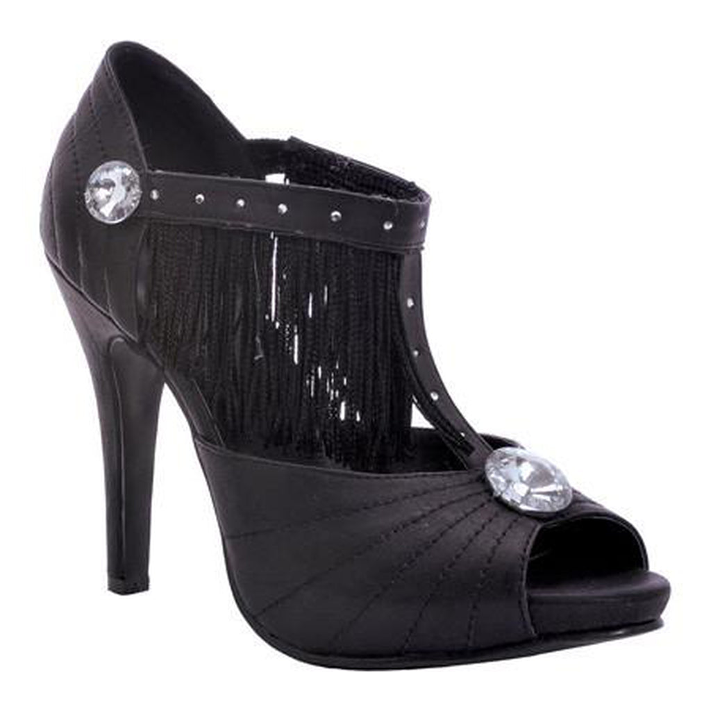Black Jazzy Flapper Women's Shoes