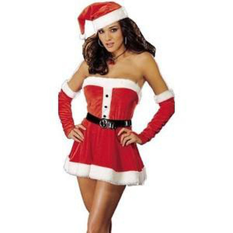 Mrs.Claus-Santa's Sweetie Sexy Costume