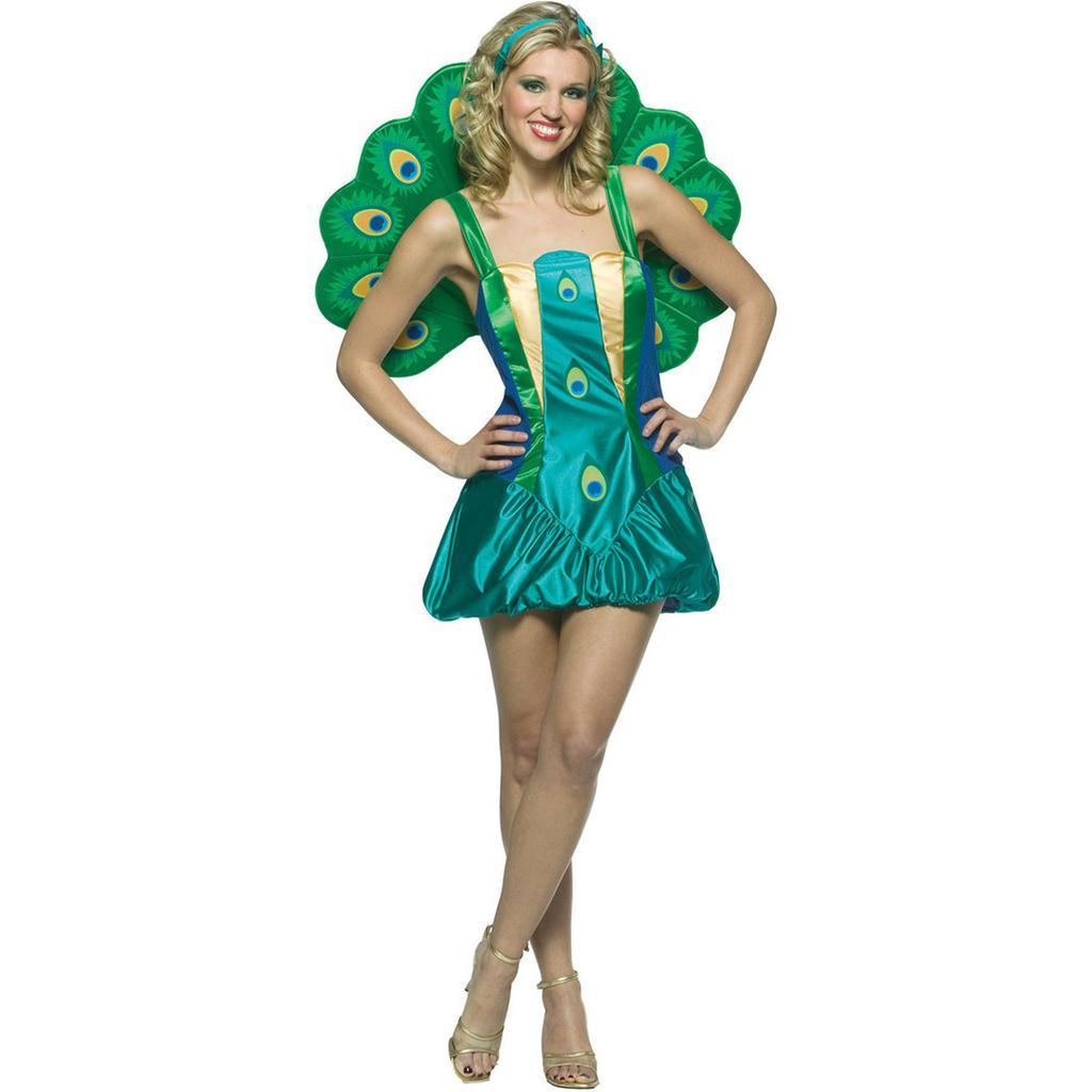 Peacock Women's Costume