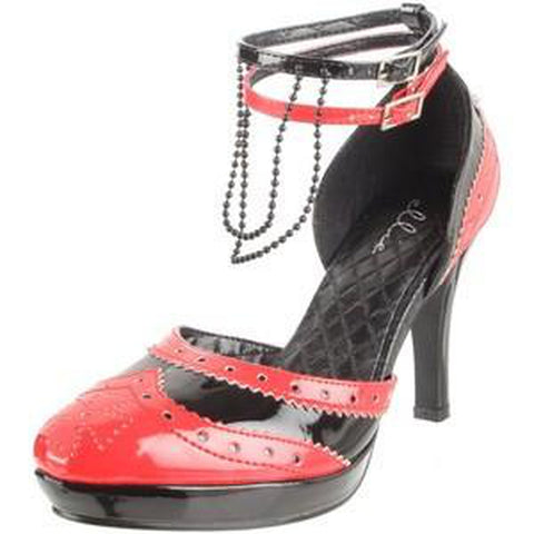 Red&Black Vampyress Women's Shoes