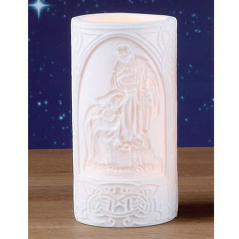 LED Nativity Candle