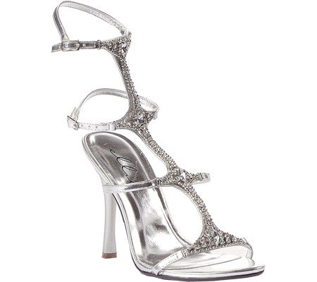 Strappy Jeweled Women's Shoes