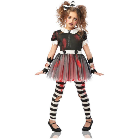 Dreadful Doll Girl's Costume