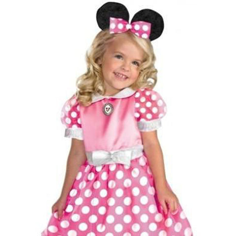 Clubhouse Minnie Mouse-Pink Toddler Costume