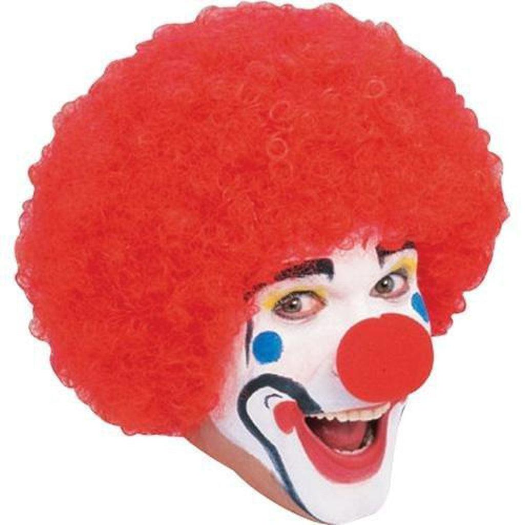 Red Clown Wig