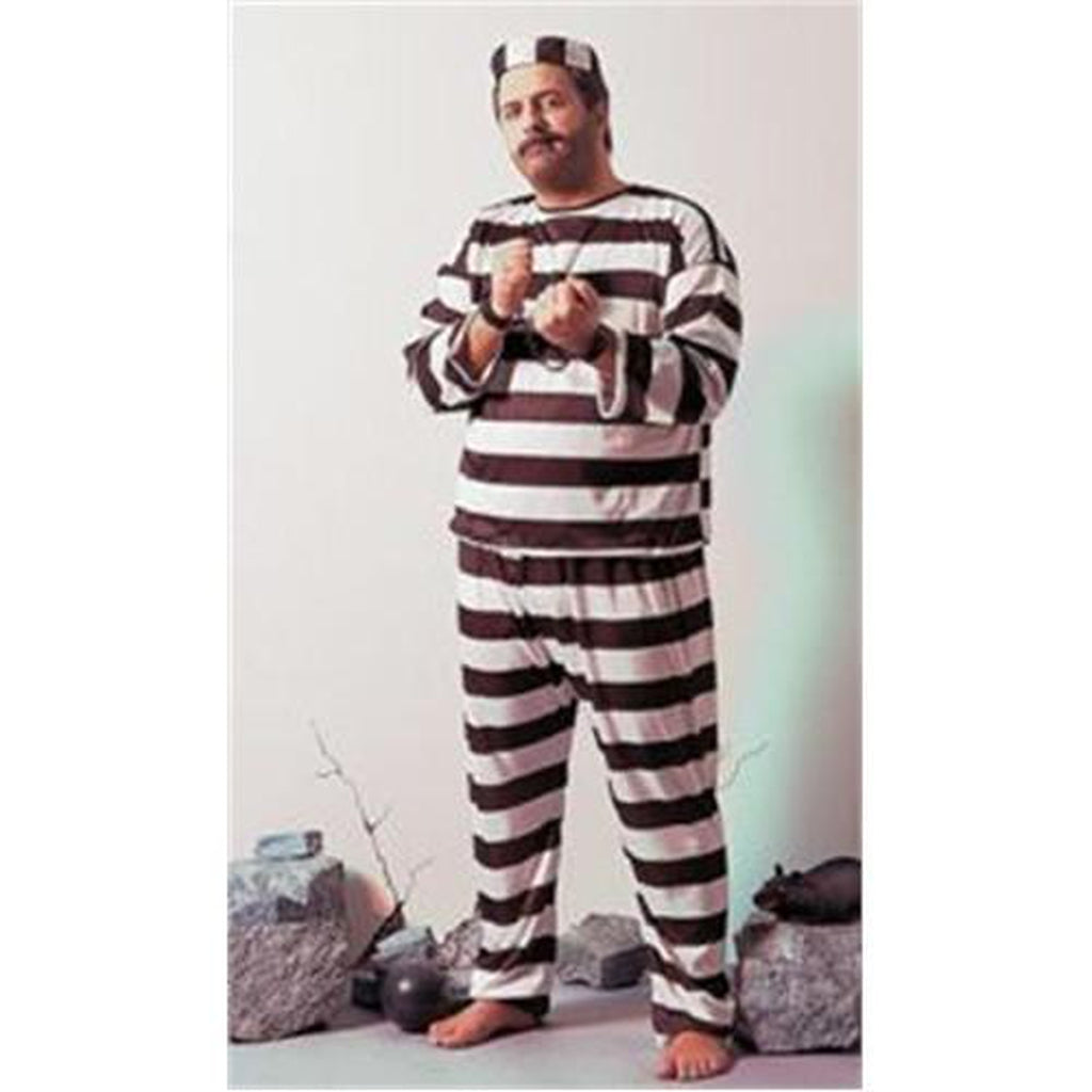 Convict Plus Size Costume