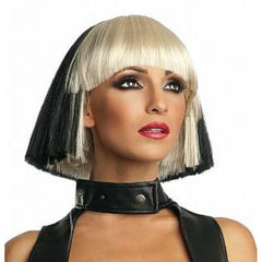 Lady Gaga-Two Tone Wig