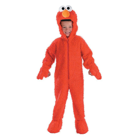 Sesame Street-Elmo Deluxe Plush Toddler Costume