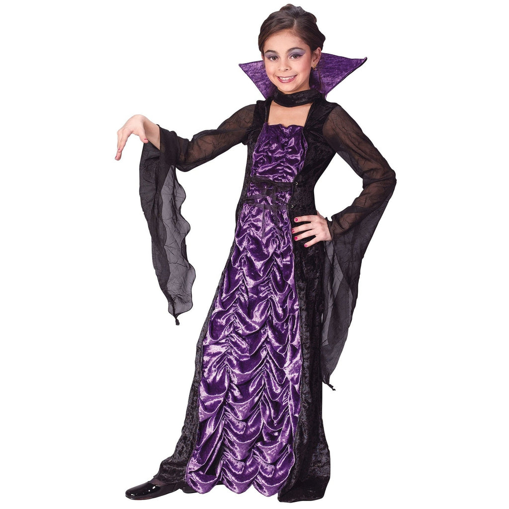 Countess of Darkness Girl's Costume