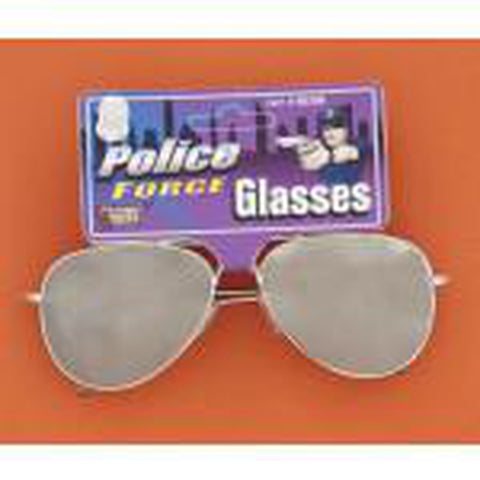 Mirrored Police Glasses
