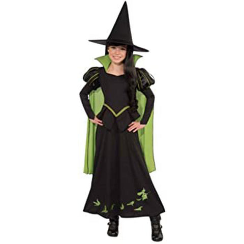 Wicked Witch of the West Girl's Costume