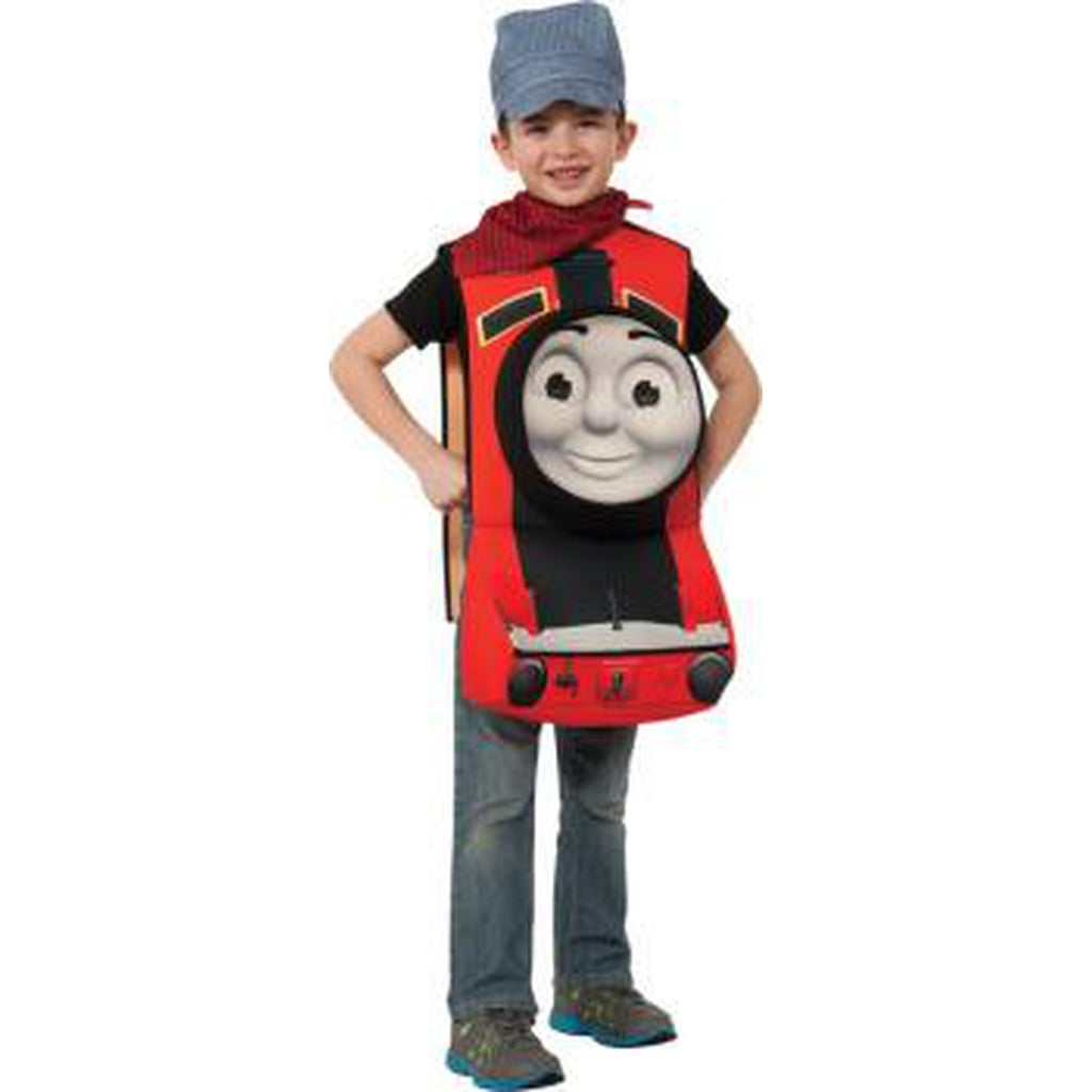 Thomas the Train - James Dlx 3-D Toddler Costume