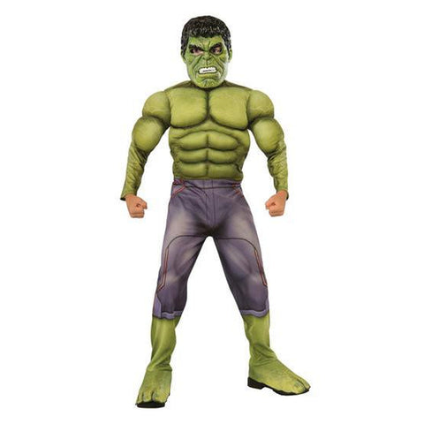 Hulk Deluxe - Avengers 2: Age of Ultron Boy's Costume