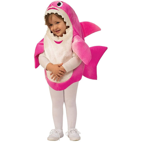 Pink Mommy Shark Toddler Costume