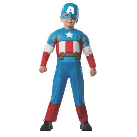 Captain America Deluxe Toddler Costume