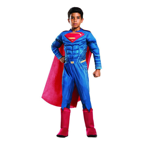 DOJ Superman Muscle Chest Deluxe Boy's Costume