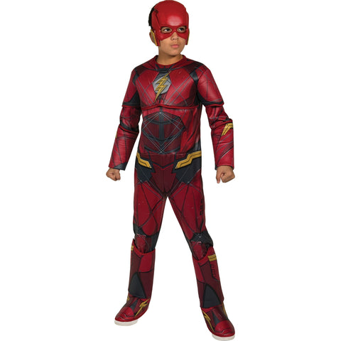 Dlx. Flash Boy's Costume
