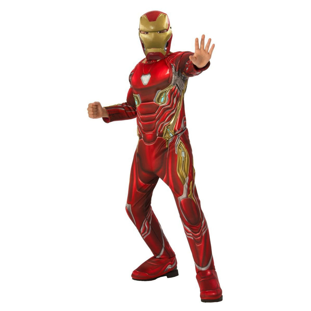 Deluxe Iron Man Boy's Costume