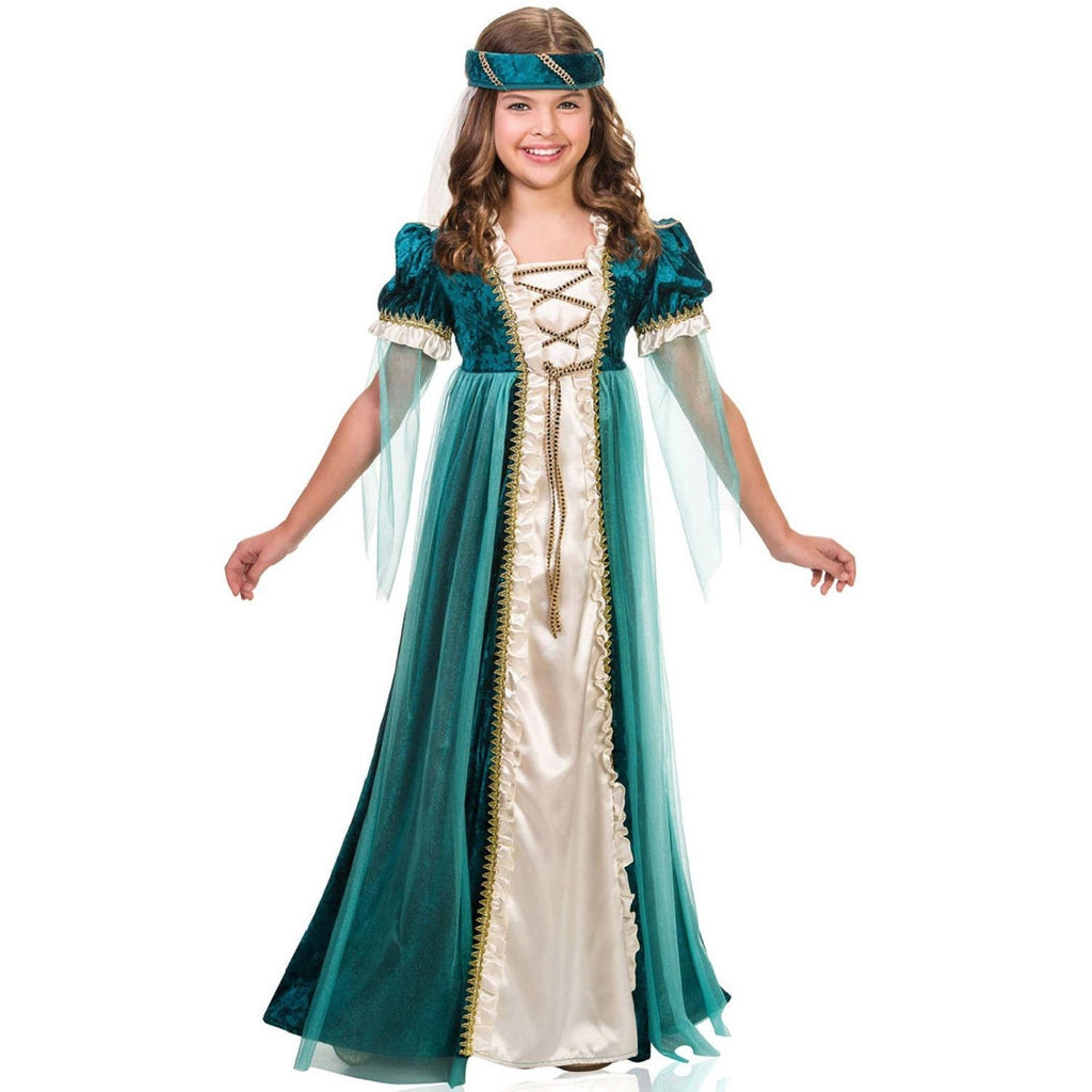 Emerald Juliet Girl's Costume