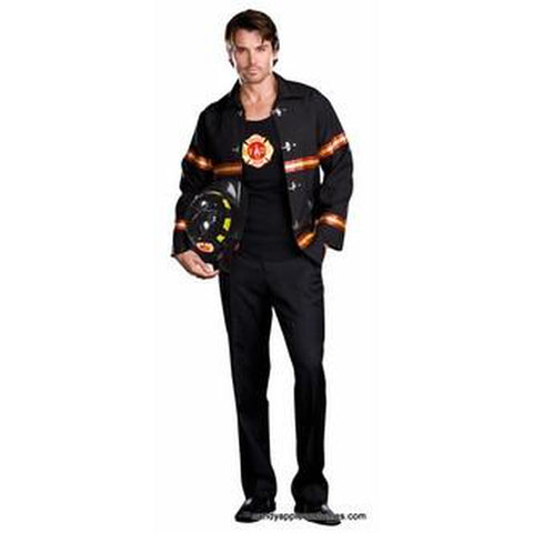Smokin' Hot Fireman Men's Plus Costume