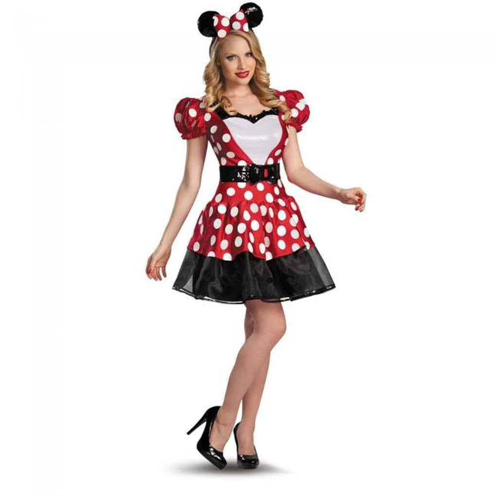 Glam Red Minnie Women's Costume