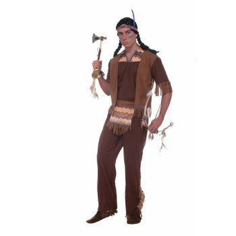 Native American Brave Men's Costume