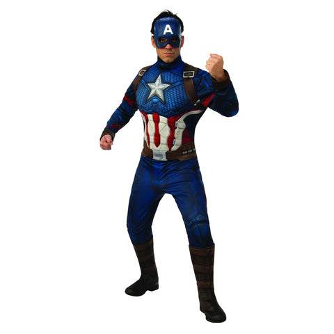 Deluxe Captain America Endgame Men's Costume