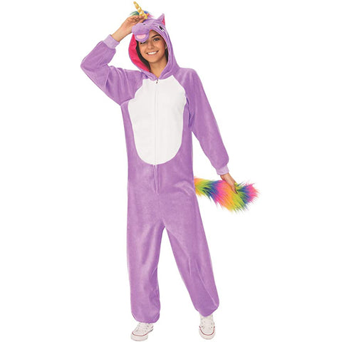 Purple Unicorn Onesie Costume