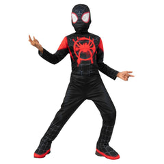 Into the Spider-Verse - Miles Morales Spider-Man Boy's Costume