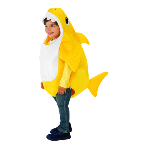Yellow Baby Shark Toddler Costume