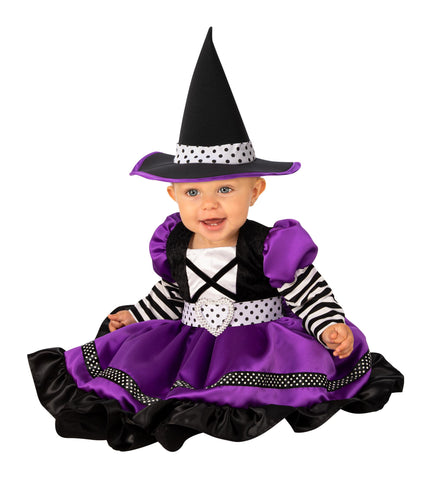 Purple Witch Toddler Costume