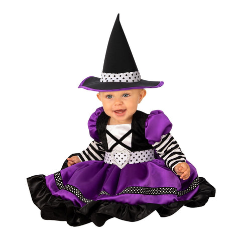 Purple Witch Infant Costume