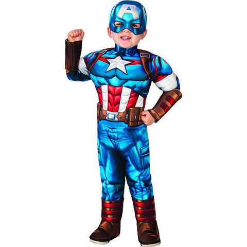 Captain America Adventures Toddler Costume