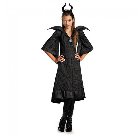 Maleficent-Christening Black Gown Girl's Costume