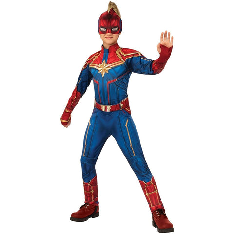 Captain Marvel Girl's Costume
