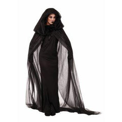Haunted Black Cape Costume