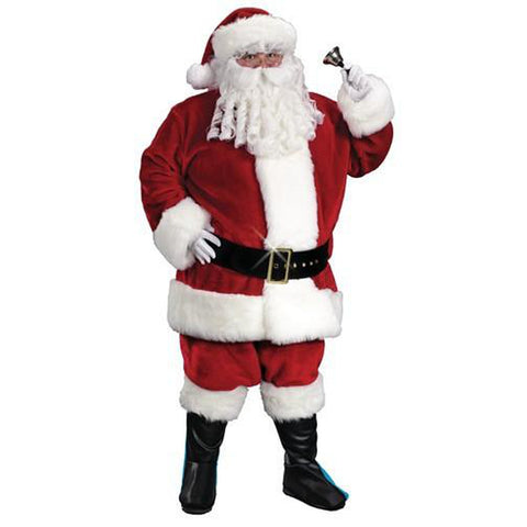 Santa Suit-Plus Size Regency Plush