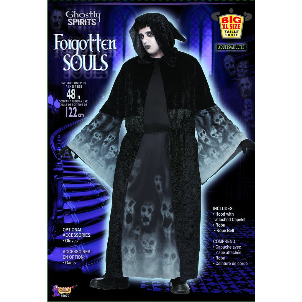 Forgotten Soul Plus Size Men's Costume