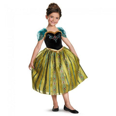Frozen-Anna Coronation Gown Deluxe Girl's Costume