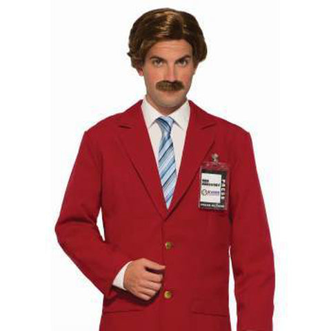 Anchorman Wig and Moustache