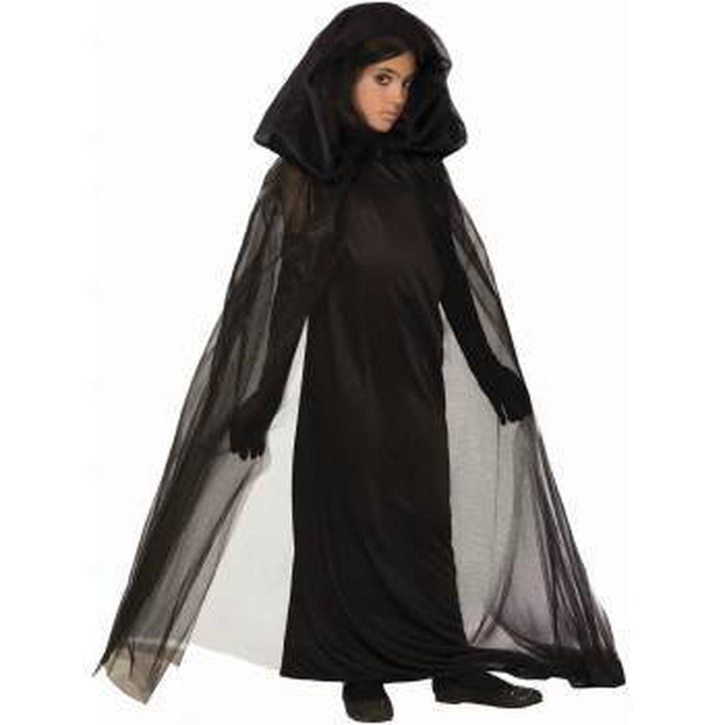 Black Haunted Girl's Costume