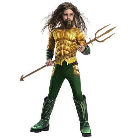 Aquaman Dlx Boy's Costume