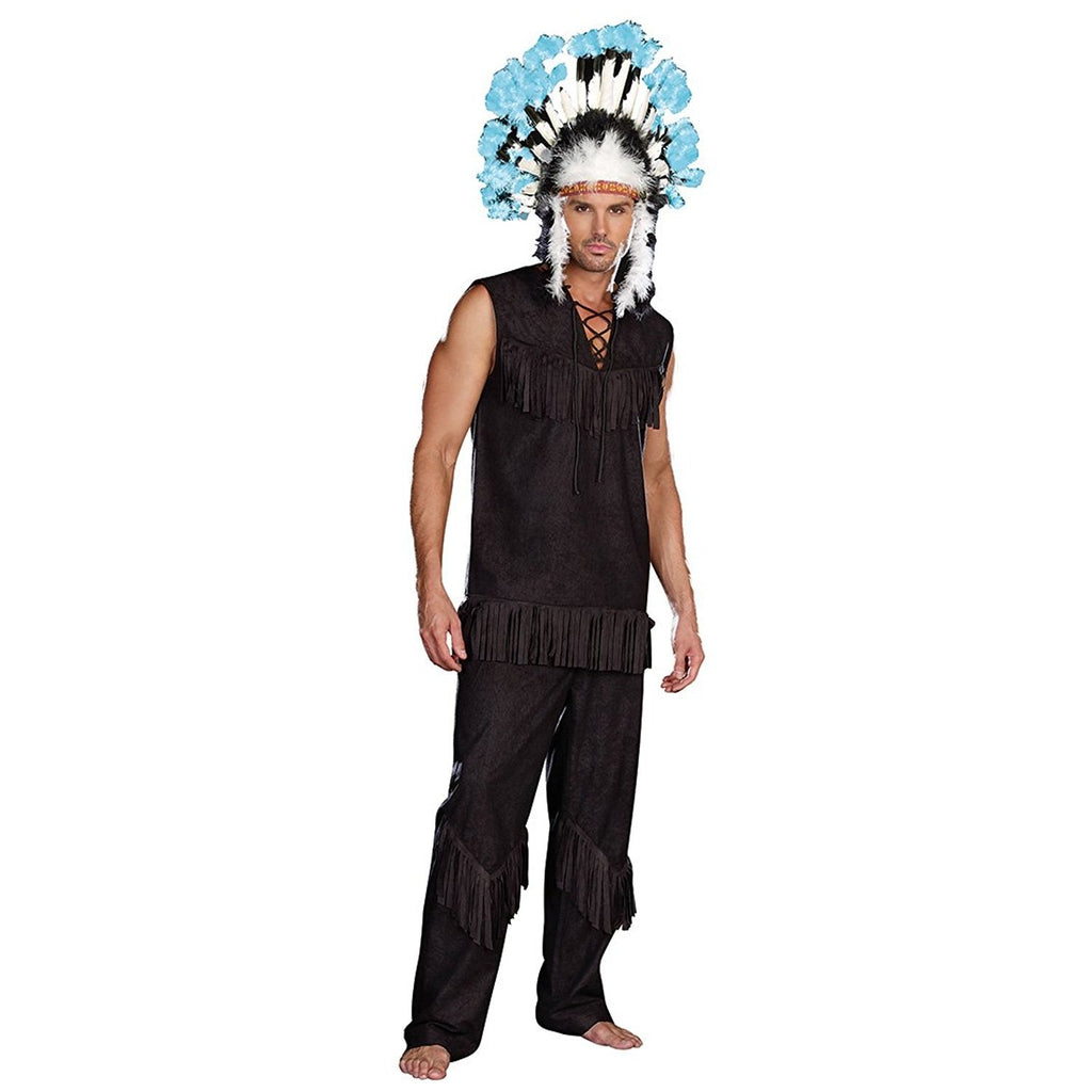 Chief Wansum Tail Men's Costume