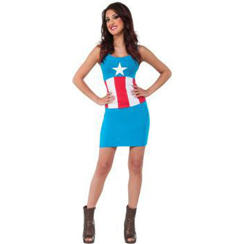 Captain America - American Dream Tank Dress