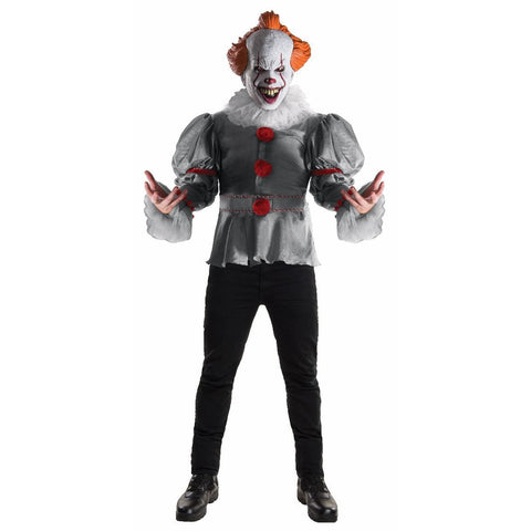 Pennywise the Clown Men's Costume (IT -2017 Movie)