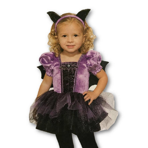 Bat Witch Toddler Girl Costume