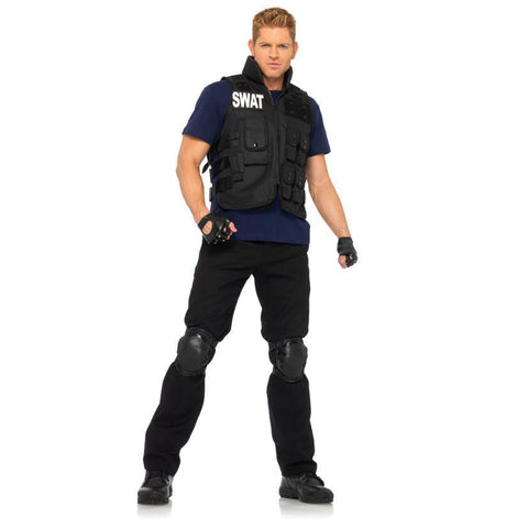 Swat Commander Men's Costume