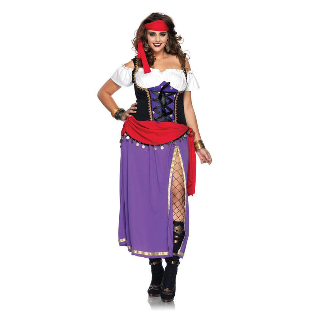 Traveling Gypsy Plus Size Costume