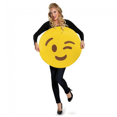 Emoticon Adult Costume (Unisex)